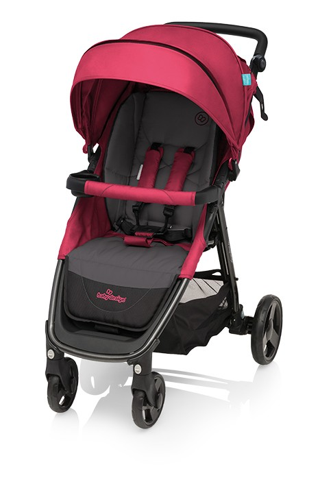 Baby Design Clever sport babakocsi állítható tolókarral – 08 Pink 2018 56b9de7cde