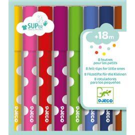 Djeco Kimosható filctoll - 8 felt-tips for little ones