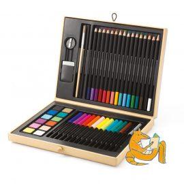 Djeco Kreatív készlet - Festő és rajz készlet - Color boksz